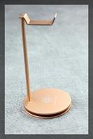 Copper Colour Champaign Aluminium alloy Headphone Stand Holder Headset Accessories for Sennheiser/AKG/Beyerdynamic/GRADO/Sony