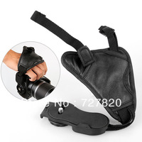 2pcs Camera Black Leather Soft Wrist Strap/Hand Grip for Canon Nikon Sony SLR/DSLR