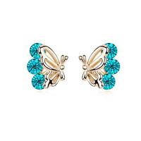 Small accessories quality Women stud earring butterfly earrings