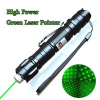 Strong 532nm 8000M Green Laser Pointer Pen High Powerful Light Super Range Super Star cap