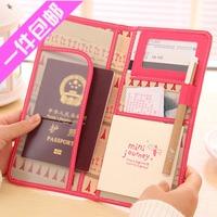 2014 NEW Fashion  passport holder individuality brief  passport bag protective case wallet card holder 3122709