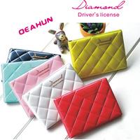 2014 NEW New Diamond license folder series license bag documents bag card holder card case 3122605