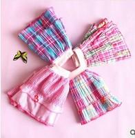 hot sale!!! 5pcs/lot 2014 spring atutumn baby girls plaid skirt children gauze skirts girls cake skirt free shipping