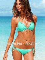 Free Shipping Drop ship discount swimwear swimming suit push up bathing suit tops womens bikini Y020