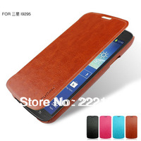 Retro luxury protective cover flip leather case for Samsung Galaxy S4 Active i9295 holder function good quality freeshipping