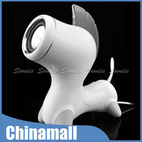 Magic 3.5mm Portable Horse Style USB Stereo Music Audio Speaker For iPad iPod PC Free Shipping & Drop Shipping