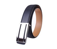 free shipping 1PCS Mens Fashion Smooth Buckle Genuine Leather Belt  at various colour