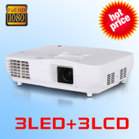 Full hd 1080p 3led 3lcd proiettore movie theater projectors for sale