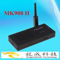 Tronsmart MK908II with WiFi Antenna RK3188 Quad Core Android 4.2 Mini TV Box HDMI PC Stick Dongle 2GB RAM Bluetooth MK908 II