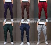 2014 Hot! New Chic Men's Slim Casual Sports Harem Pants Sweatpants Slacks Trousers