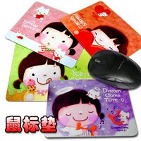 Korea stationery cookyshop cookies girl cartoon slip-resistant mouse pad mat