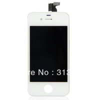 2X White Touch Digitizer + LCD Display Assembly for iPhone 4S 4GS STTOW BA092