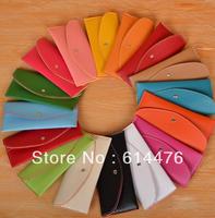 Free Shipping 400PCS/LOT Fahion Women's Wallet Slim PU Card Package Clutch Handbag Long Wallet Purse Korean Style