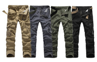 2014 NEW MENS MILITARY ARMY CARGO CAMO COMBAT WORK PANTS Size 29-38 FASHION TROUSER