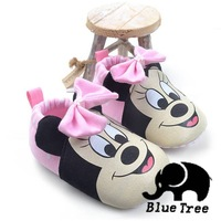New Cute Non-Slip Shoes Baby Toddler Shoes  2Colors First Walkers  Girls &boys Shoes Free Shipping