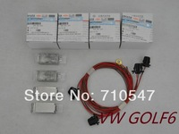 Volkswagen VW Golf 6 MK6 Gti Jetta OEM original foot light atmosphere lamp with cable set 5ND 947 415