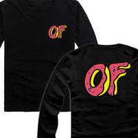 Odd future ofwgkta golf wang wolf gang hiphop t-shirt long-sleeve 4 cap pig