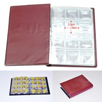 1pc/Lot 2014 New 120 Openings Coins Holder Pocket Album Book Collecting Wholesale/Retail 6147
