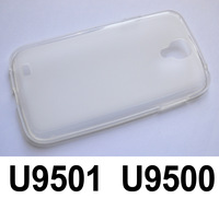 Free shipping 1pcs Transparent Clear Silicone Case for Star U9501 U9500 U9503 phone Silicon Case