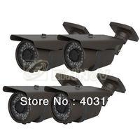 4pcs 700TVL Effio Sony CCD 36 Infrared Leds Waterproof CCTV Camera Security 9-22mm A19TG