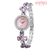 Brand Eyki Kimio Watch Women 2013 Ladies Luxury Bracelet Watches Dress Stainless Steel Quartz Watches Free Shipping!