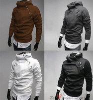 Bran-New Men Korean Slim Fit Top Designed Casual Hoodies Jackets Coats Outwear
