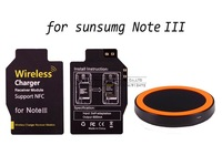 Note 3 Mini Qi Wireless Charger Pad for Samsung N9005, Wireless Charging Receiver Free Shipping