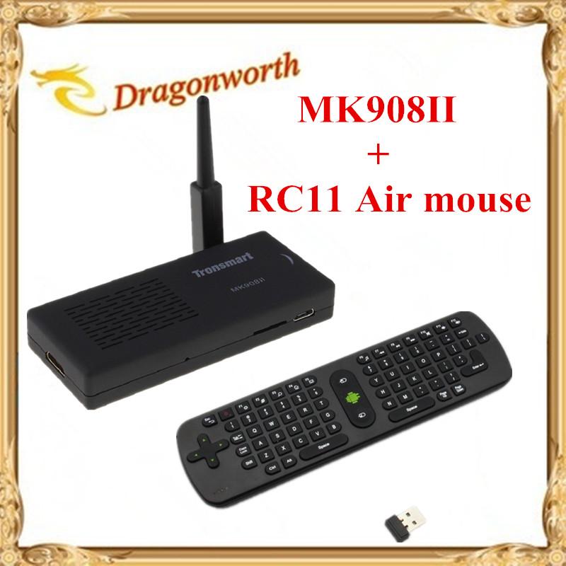 WiFi Antenna Tronsmart MK908II RK3188 Quad Core Android 4.2 Mini TV Box HDMI PC Stick Dongle 2GB RAM MK908 II + RC11 Air mouse(China (Mainland))