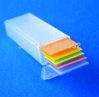 Plastic Microscope Slide Mailer Holder Storage Box Microslide  PP Holds 5  Dispenser Box - Pack 10