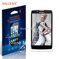 6Pcs Nacodex Clear LCD Guard Shield Screen Protector Film For Motorola Razr V XT885 Free Shipping Retail Package