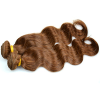 "Remy Unprocessed Braid Indian Virgin Hair Not Easy To Shed 18""20""22"" colour 2#"