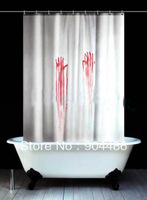 2014 new arrival The Crimson Palm  shower curtain,100% Environmental protection.Free shipping!