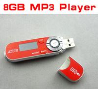 GE-NWZ-B142 8gb mp3 players MP3 Music Player 2GB 4G 8GB AS USB Flash Drive gift