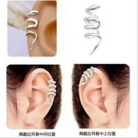146  New style Fashion Snake Ear Cuff Earrings Metallic Unilateral Ear Cuffs Jewelry Accessories Wholesales