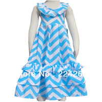 Wholesale 6pcs New Arrive 2014 Summer Cotton girl party dress
