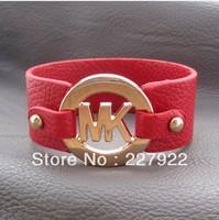 HOT!!! 100% brand new  Pop Fashion PU Leather bracelet Bracelet