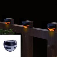 NEW 2led solar fence lamp royal fashion outdoor decoration wall lamp 6pcs/lot