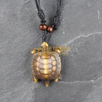 Bone JeweLry Men Necklace Wooden bead Decoration Vintage Punk Scenic Spot Sale Tortoise N0147