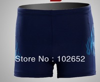 Wholesale Men Flames Swimming Trunks, Swimwear,Boxer Shorts For Man,Plus Size XXXL  Free Shipping JL-8618