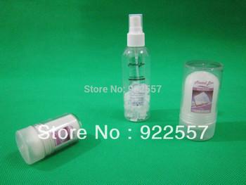 for Natural alum body deodorant set, Natural potassium alum products set, 60g+120g+100ml ...