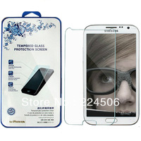 New 9H 0.26mm Tempered Glass Screen Protector For SamSung Galaxy Note II 2 N7100 Free Shipping