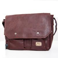2014 NEW Arrival  Fashion Casual Men's PU Leather Shoulder Messenger Bag Men Crossbody Vintage Black Brown Bags Quality 140612