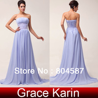 Free Shipping Strapless Formal Dresses Party Long Dress 2014 Evening Dresses Prom Sequin Wedding Gown Bride Dress Elegant CL6011