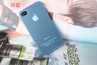 #20140113#  New Fashion Case for iPhone 4/4s Silicone Case TPU Case Dustproof Lower price Drop Shipping