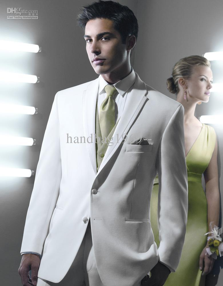 Cream Wedding Suits For Men Wedding Prom Men Suits