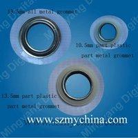 good quality 10.5mm part metal part plastic grommet
