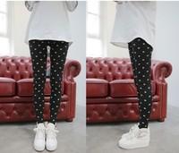 2014 Newest Fashion Women's Leggings Autumn Summer Lovly Cat Printed Knitted Trousers Elastic Female Yoga Leggings WH950