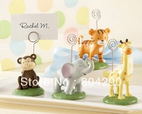 Baby Shower Party Favor Born To Be Wild Animal Place Card Holder Favors