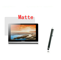 """Matte Screen Protector Film Films Guards +Stylus Pen For Lenovo YOGA 10 B8000 10.1"""" Tablet +Free/Drop Shipping"""