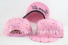 popular pink and white snapback